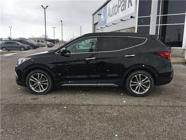2017 Hyundai Santa Fe Sport 2.0T Limited (Stk: 17-34024RJB) in Barrie - Image 8 of 30
