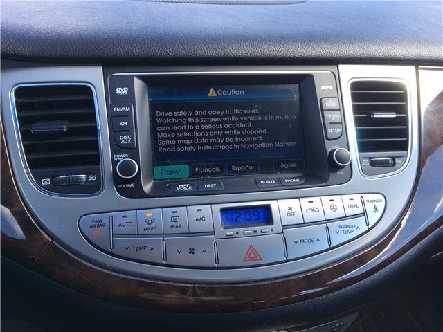 2011 Hyundai Genesis 3.8 Premium (Stk: 19118A) in Pembroke - Image 20 of 25
