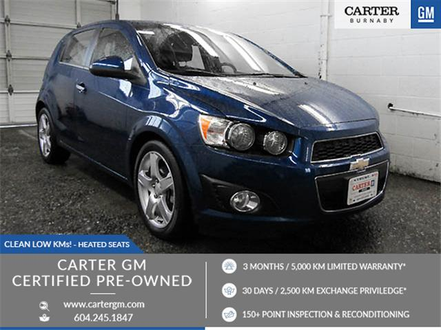 2013 Chevrolet Sonic LTZ Auto (Stk: 89-84851) in Burnaby - Image 1 of 23