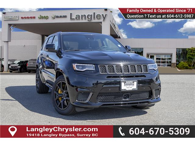 2018 Jeep Grand Cherokee Trackhawk (Stk: J278944) in Surrey - Image 1 of 29