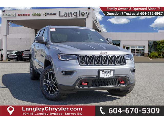 2019 Jeep Grand Cherokee Trailhawk (Stk: K542508) in Surrey - Image 1 of 28