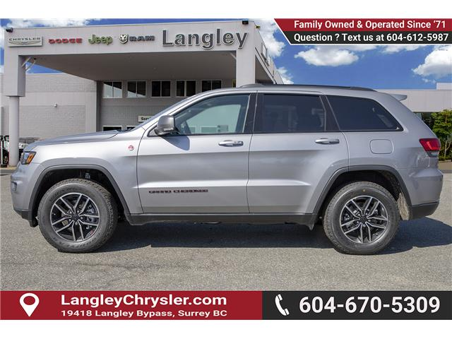 2019 Jeep Grand Cherokee Trailhawk (Stk: K542508) in Surrey - Image 4 of 28