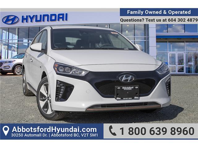 2019 Hyundai Ioniq EV Ultimate (Stk: KI039299) in Abbotsford - Image 1 of 27
