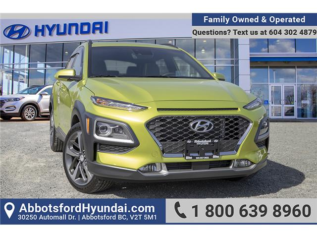 2019 Hyundai KONA 1.6T Ultimate (Stk: KK263753) in Abbotsford - Image 1 of 30