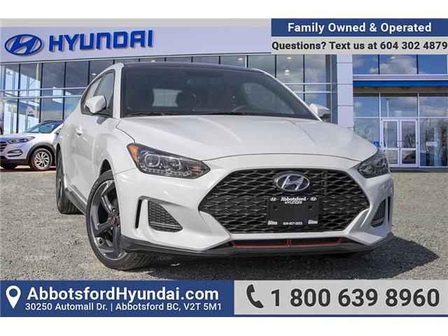 2019 Hyundai Veloster Turbo (Stk: KO009985) in Abbotsford - Image 1 of 27