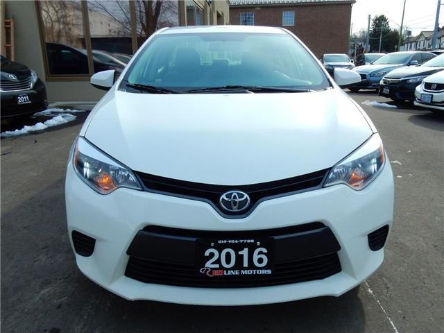2016 Toyota Corolla  (Stk: 2T1BUR) in Kitchener - Image 2 of 23