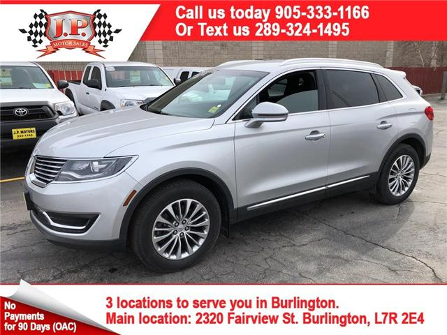 2016 Lincoln MKX Select (Stk: 45090) in Burlington - Image 1 of 21