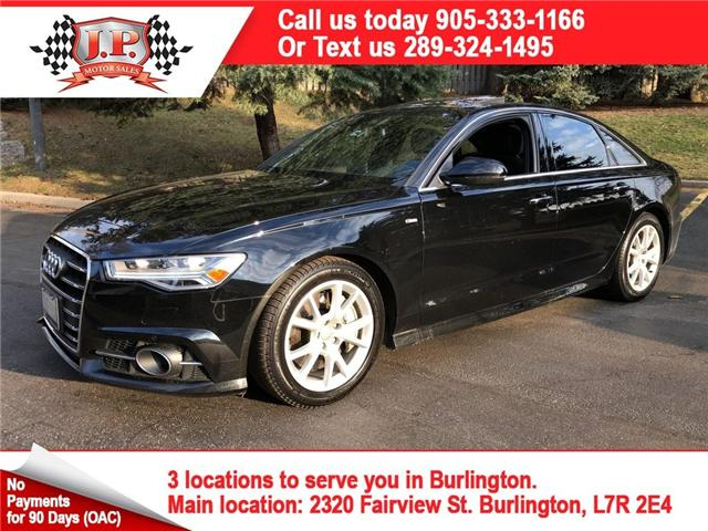 2017 Audi A6 3.0T Progressiv (Stk: 117149) in Burlington - Image 1 of 21
