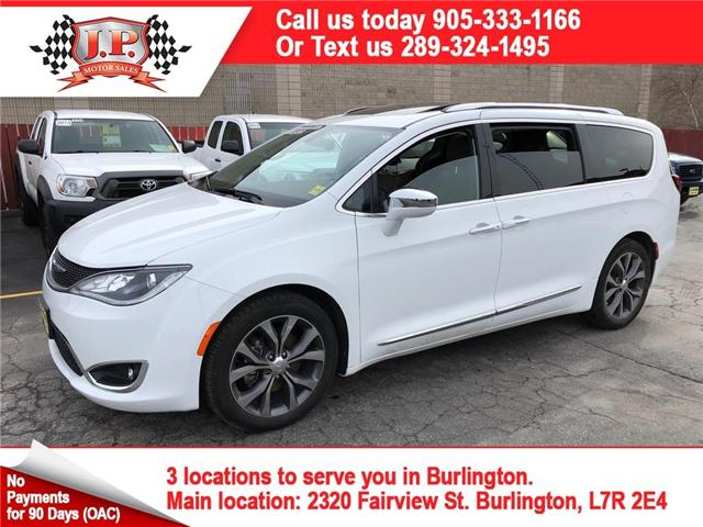 2017 Chrysler Pacifica Limited (Stk: 46350) in Burlington - Image 1 of 21