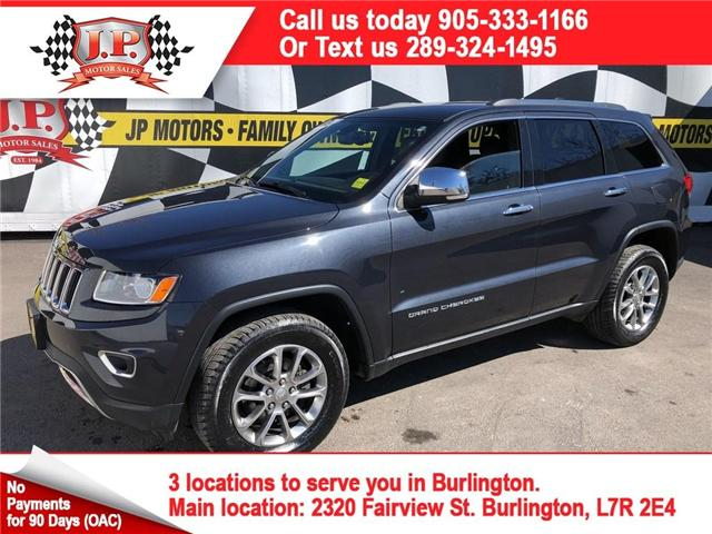 2015 Jeep Grand Cherokee Limited (Stk: 45870A) in Burlington - Image 1 of 26