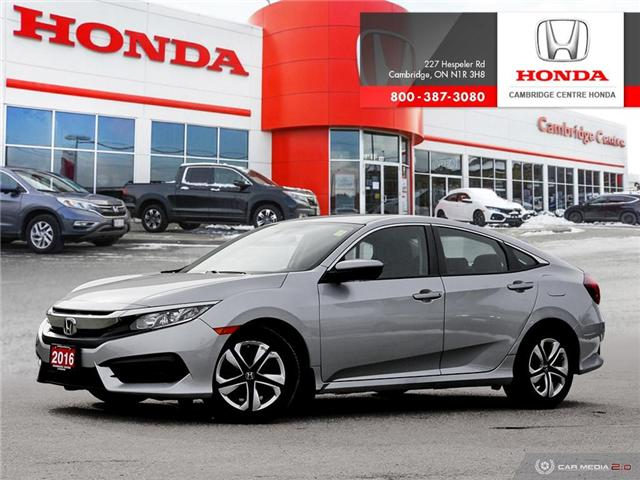 2016 Honda Civic LX (Stk: 19554A) in Cambridge - Image 1 of 27