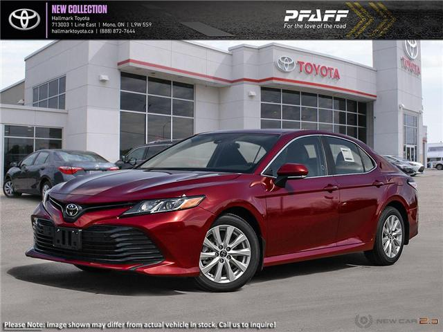 2019 Toyota Camry 4-Door Sedan LE 6A (Stk: H19342) in Orangeville - Image 1 of 24