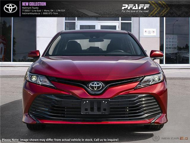 2019 Toyota Camry 4-Door Sedan LE 6A (Stk: H19342) in Orangeville - Image 2 of 24