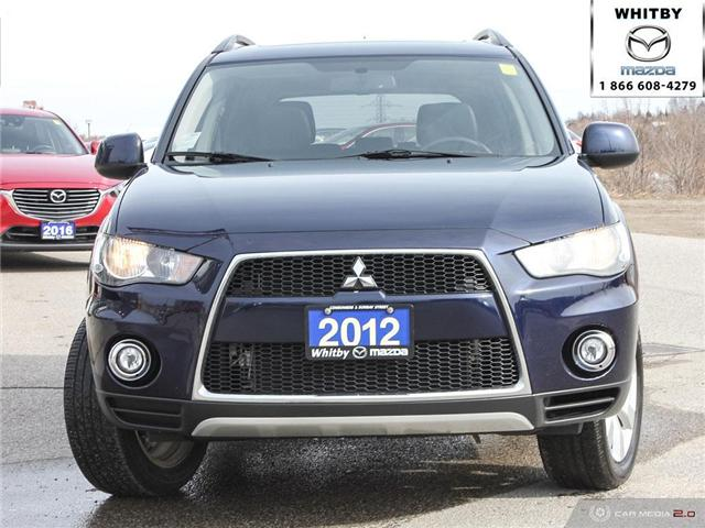 2012 Mitsubishi Outlander ES (Stk: 181034A) in Whitby - Image 2 of 27