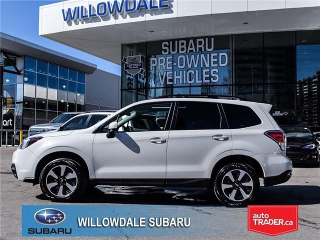 2018 Subaru Forester 2.5i Touring | SUNROOF | HEATED SEATS | BLUETOOTH (Stk: 18D94) in Toronto - Image 2 of 26
