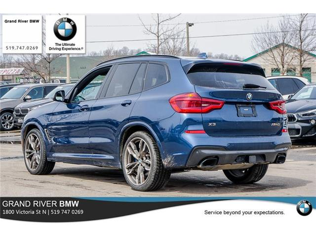 2018 bmw x3 m40i at 59950 for sale in kitchener grand. Black Bedroom Furniture Sets. Home Design Ideas