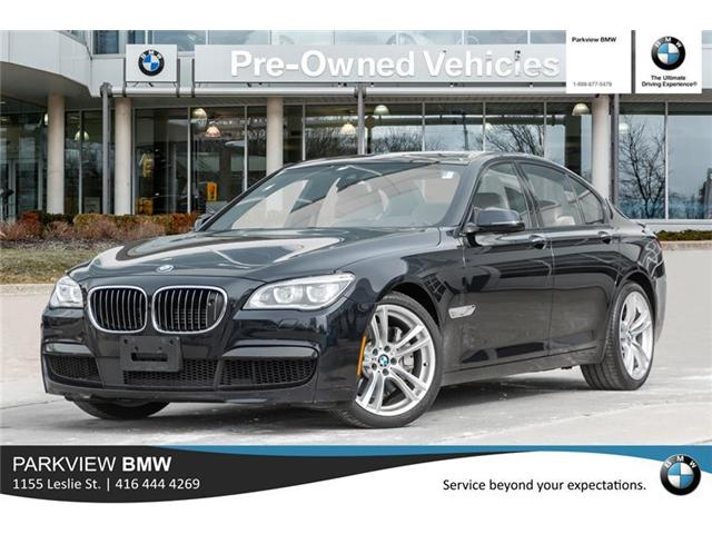 2014 BMW 750i xDrive (Stk: PP8395A) in Toronto - Image 1 of 22