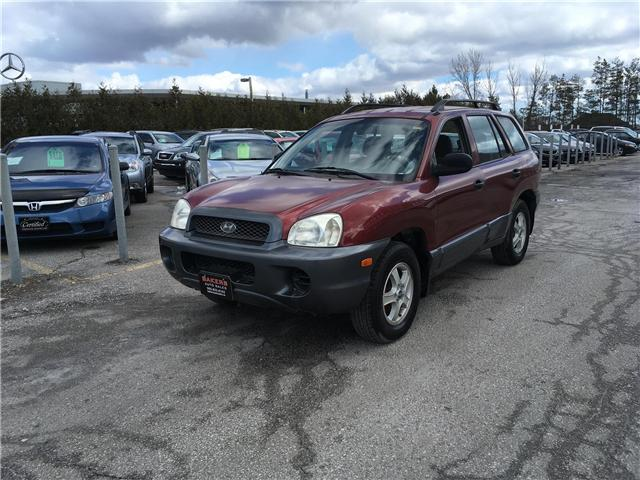 2002 Hyundai Santa Fe GL (Stk: P2249) in Newmarket - Image 1 of 17