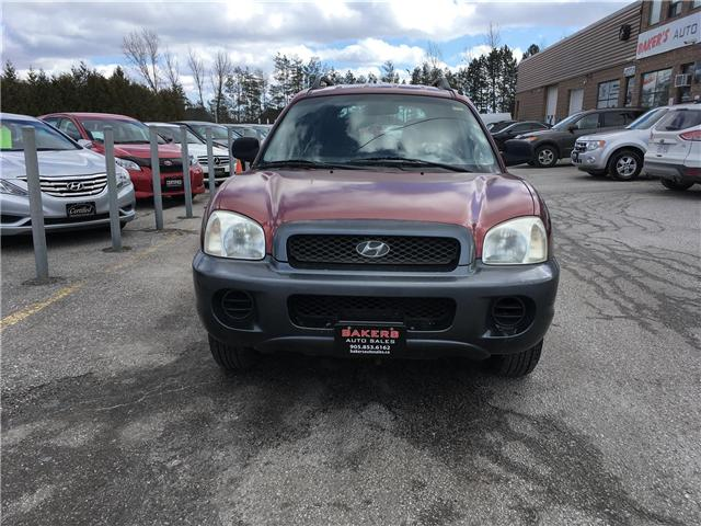 2002 Hyundai Santa Fe GL (Stk: P2249) in Newmarket - Image 2 of 17