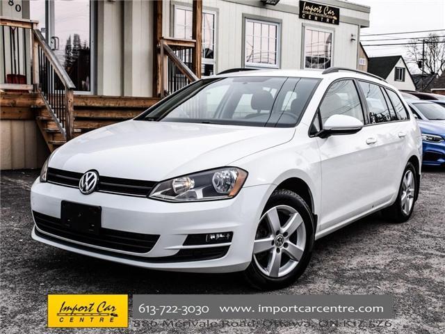 2015 Volkswagen Golf Sportwagon 2.0 TDI Trendline (Stk: 501789) in Ottawa - Image 1 of 30