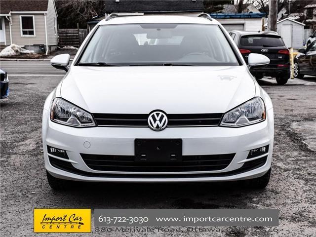 2015 Volkswagen Golf Sportwagon 2.0 TDI Trendline (Stk: 501789) in Ottawa - Image 2 of 30