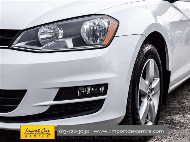 2015 Volkswagen Golf Sportwagon 2.0 TDI Trendline (Stk: 501789) in Ottawa - Image 10 of 30