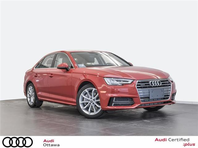 2018 Audi A4 2.0T Progressiv (Stk: 52111) in Ottawa - Image 1 of 19