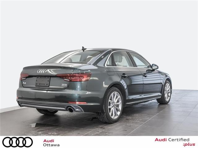 2018 Audi A4 2.0T Progressiv (Stk: 52116) in Ottawa - Image 3 of 19