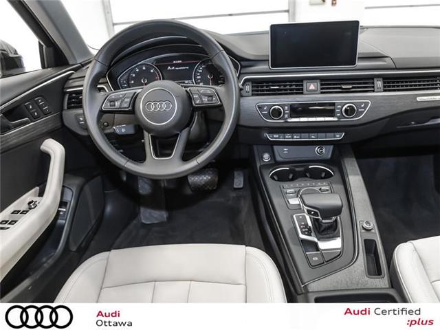 2018 Audi A4 2.0T Progressiv (Stk: 52116) in Ottawa - Image 13 of 19