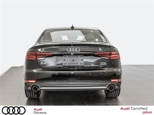 2018 Audi A4 2.0T Progressiv (Stk: 52246) in Ottawa - Image 4 of 19