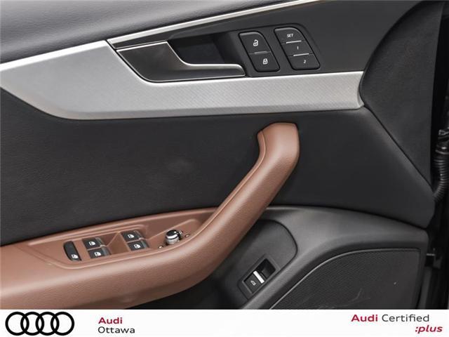 2018 Audi A4 2.0T Progressiv (Stk: 52246) in Ottawa - Image 9 of 19