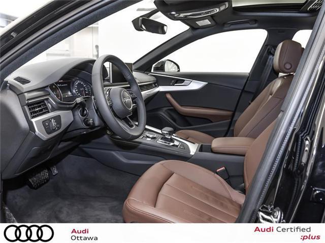 2018 Audi A4 2.0T Progressiv (Stk: 52246) in Ottawa - Image 11 of 19