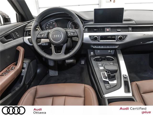 2018 Audi A4 2.0T Progressiv (Stk: 52246) in Ottawa - Image 13 of 19