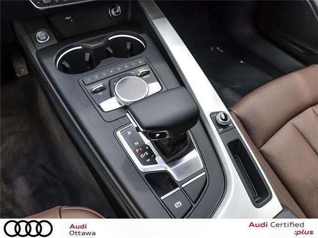 2018 Audi A4 2.0T Progressiv (Stk: 52246) in Ottawa - Image 15 of 19