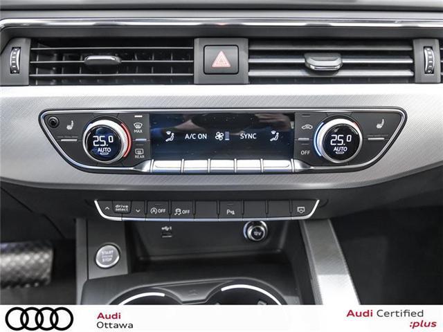 2018 Audi A4 2.0T Progressiv (Stk: 52246) in Ottawa - Image 16 of 19