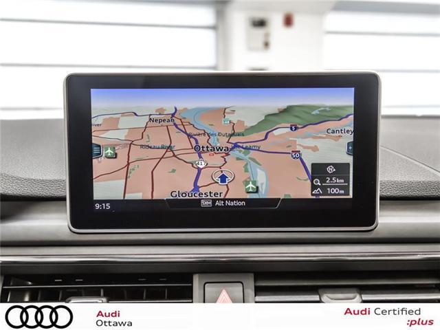 2018 Audi A4 2.0T Progressiv (Stk: 52246) in Ottawa - Image 17 of 19