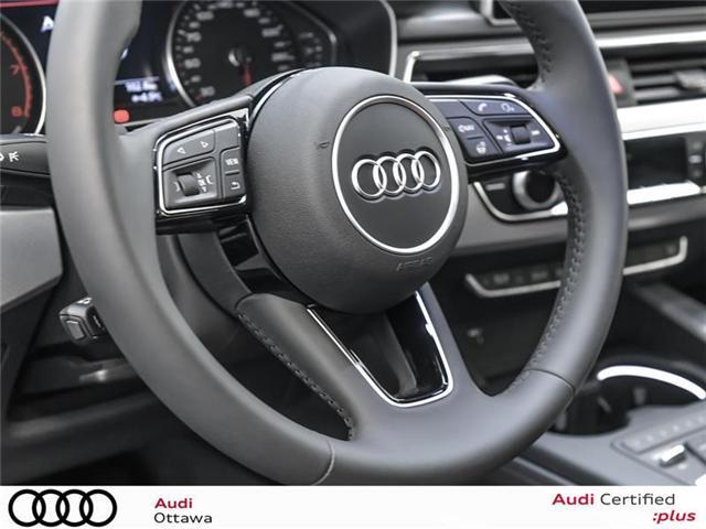 2018 Audi A4 2.0T Progressiv (Stk: 52246) in Ottawa - Image 19 of 19