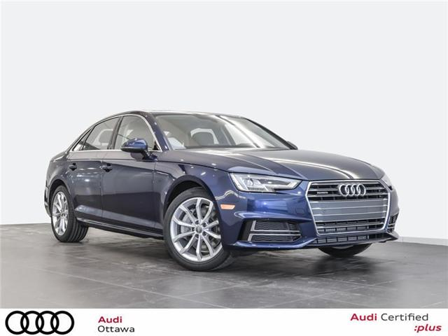 2018 Audi A4 2.0T Progressiv (Stk: 52280) in Ottawa - Image 1 of 19