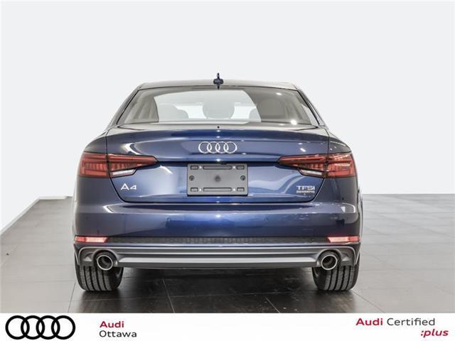2018 Audi A4 2.0T Progressiv (Stk: 52280) in Ottawa - Image 4 of 19