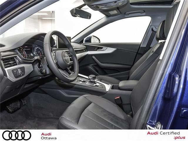 2018 Audi A4 2.0T Progressiv (Stk: 52280) in Ottawa - Image 9 of 19