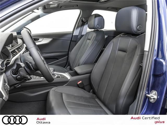 2018 Audi A4 2.0T Progressiv (Stk: 52280) in Ottawa - Image 10 of 19
