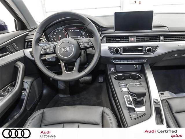 2018 Audi A4 2.0T Progressiv (Stk: 52280) in Ottawa - Image 11 of 19