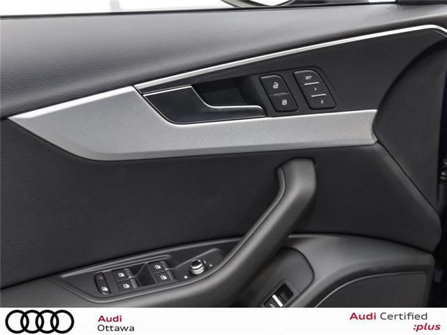 2018 Audi A4 2.0T Progressiv (Stk: 52280) in Ottawa - Image 13 of 19