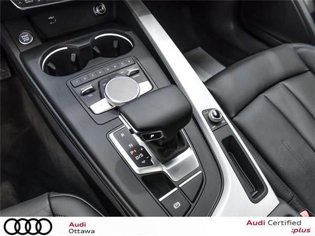2018 Audi A4 2.0T Progressiv (Stk: 52280) in Ottawa - Image 15 of 19