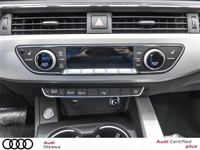 2018 Audi A4 2.0T Progressiv (Stk: 52280) in Ottawa - Image 16 of 19