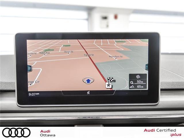 2018 Audi A4 2.0T Progressiv (Stk: 52280) in Ottawa - Image 17 of 19