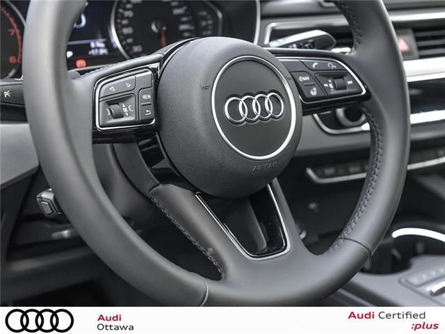 2018 Audi A4 2.0T Progressiv (Stk: 52280) in Ottawa - Image 19 of 19