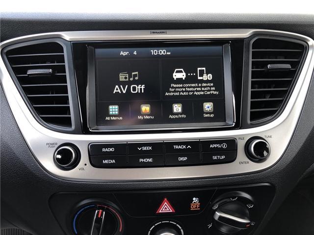 2018 Hyundai Accent GL (Stk: U3371) in Charlottetown - Image 14 of 18