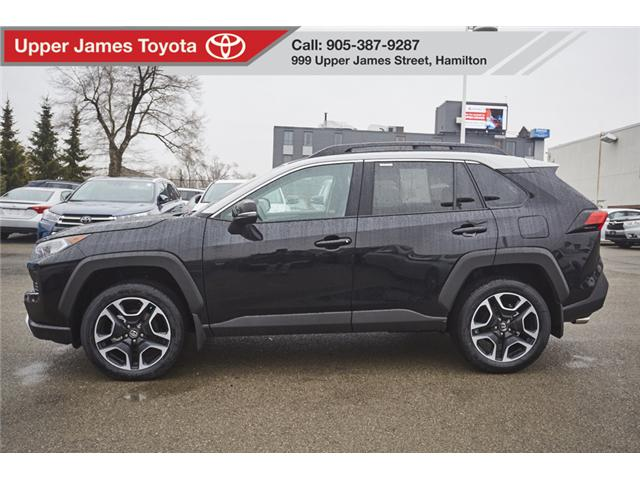 2019 Toyota RAV4 Trail (Stk: 190466) in Hamilton - Image 2 of 18