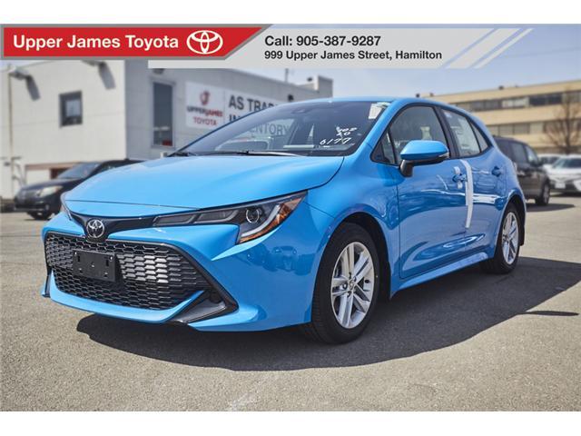 2019 Toyota Corolla Hatchback Base (Stk: 190417) in Hamilton - Image 1 of 16